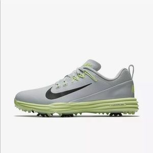 New Lunar Command 2 Golf Spikes Shoes
